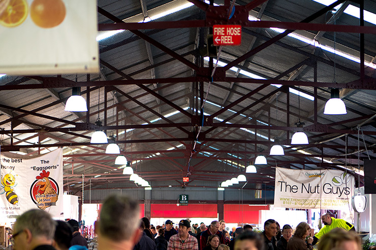 Queen Victoria Markets Fresh Produce Hall