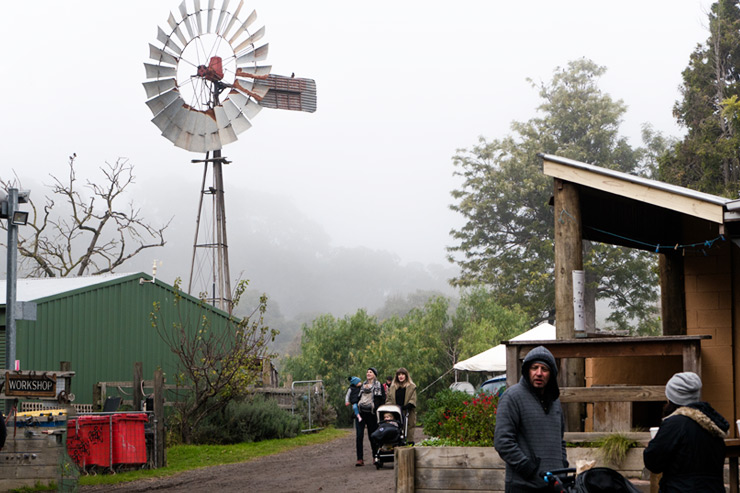 Collingwood Famers Market Windmill