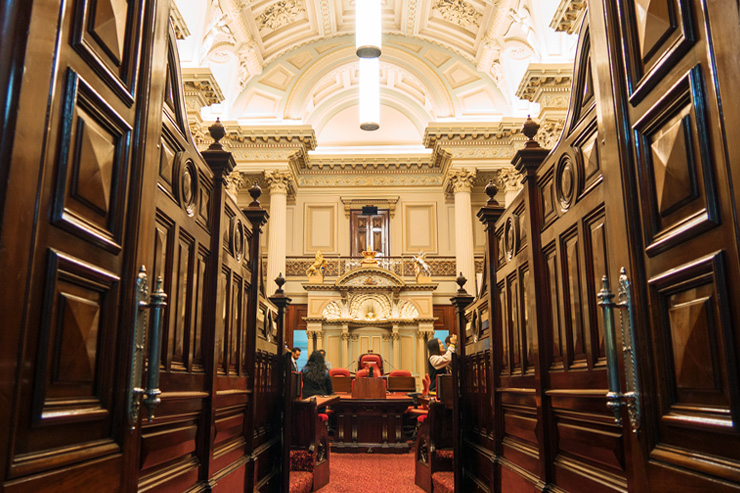 Parliament of Victoria Free Tour Council Chambers