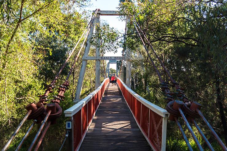 Dight Falls Trail Kane's Bridge