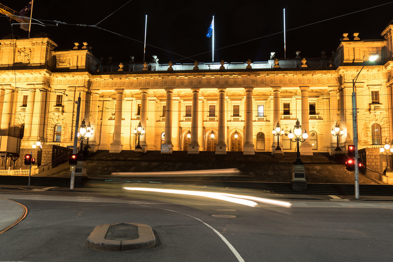 Parliament of Victoria Header