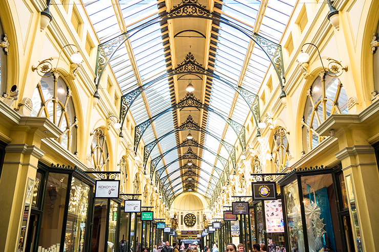 Melbourne Greeter Service Royal Arcade