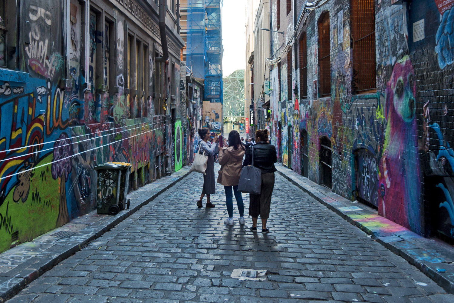 Trekking West Melbourne Street Art Hosier Lane Header