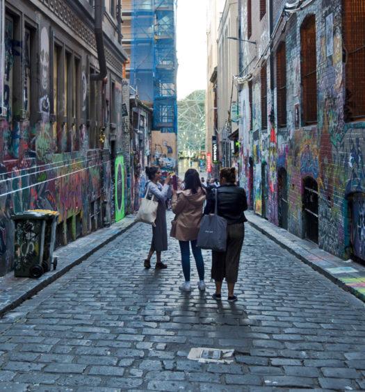 Trekking West Melbourne Street Art Hosier Lane Header