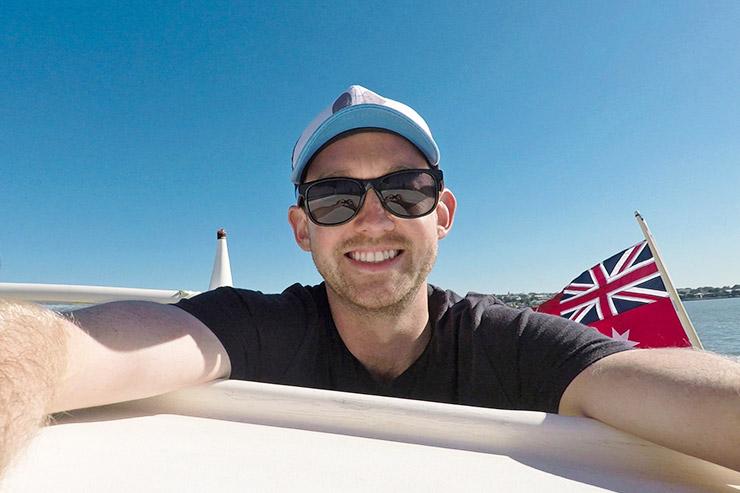 Josh Yacht Squadron, year travelling Brisbane