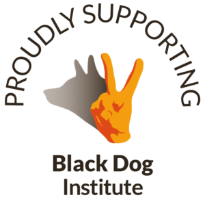 Supporting Black Dog Institute Logo