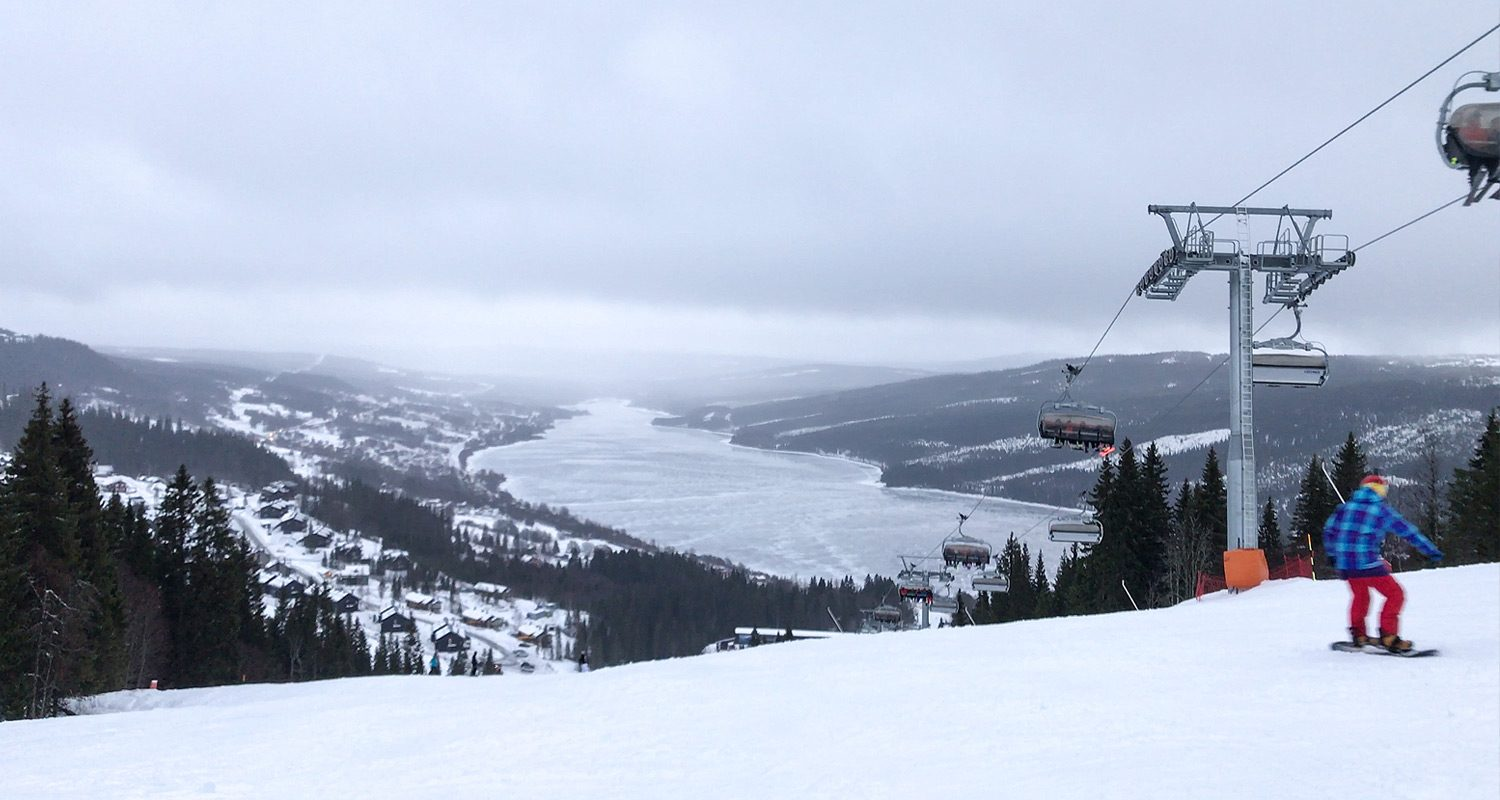 Amazing Ski Slopes in Åre