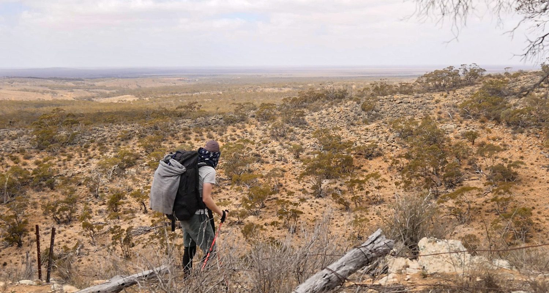 Caroona Creek Conservation Park Trekking West View Heysen Trail