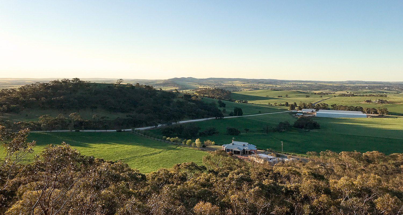 Heysen Trail Greenock Lookout View
