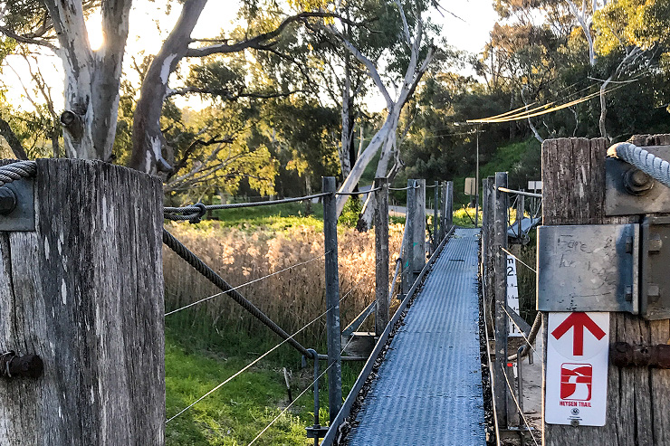 Tanunda Swinging Bridge Heysen Trail