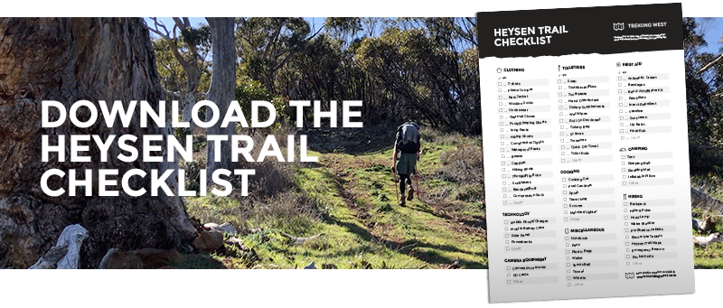 Download the Heysen Trail Checklist