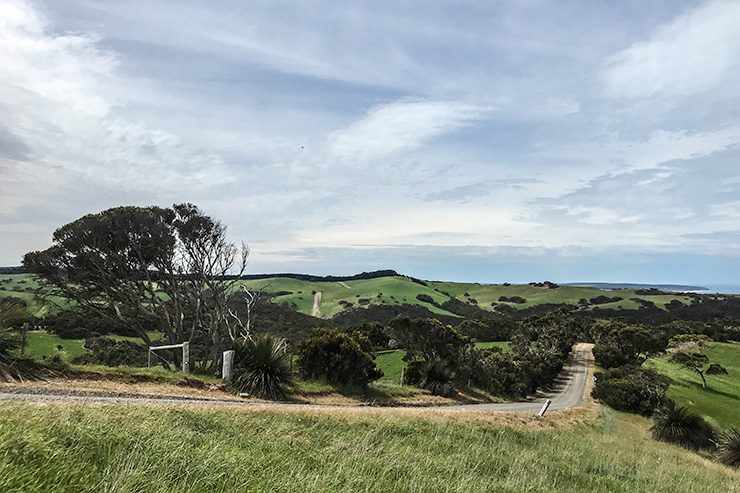 Hills and Ocean on the Heysen Trail