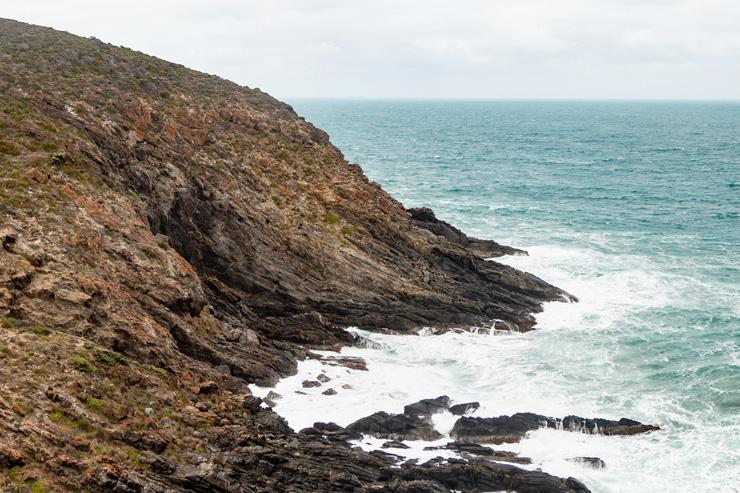 Heysen Trail Cape Jervis Ocean
