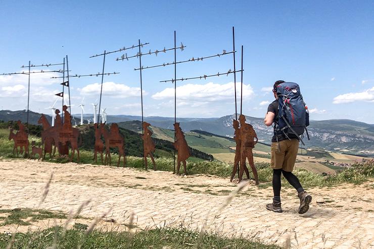 Sculpture Alto del Perdón Camino