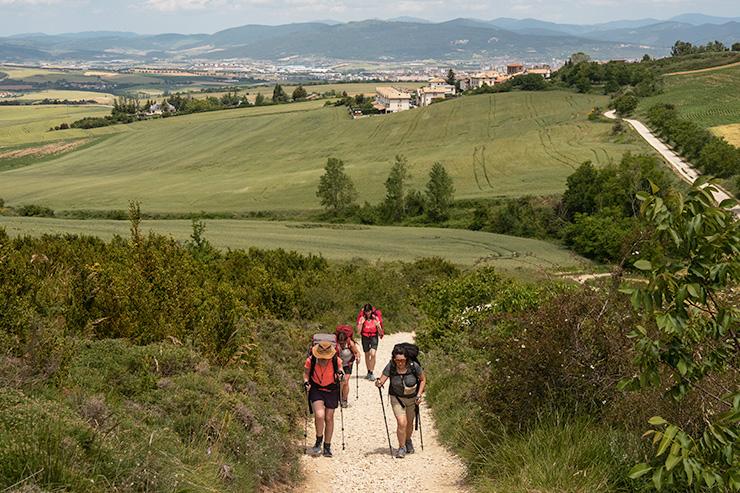Pamplona Alto del Perdón Camino