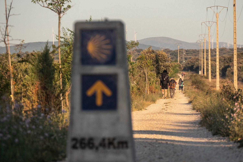 Astorga to Foncebadón Camino