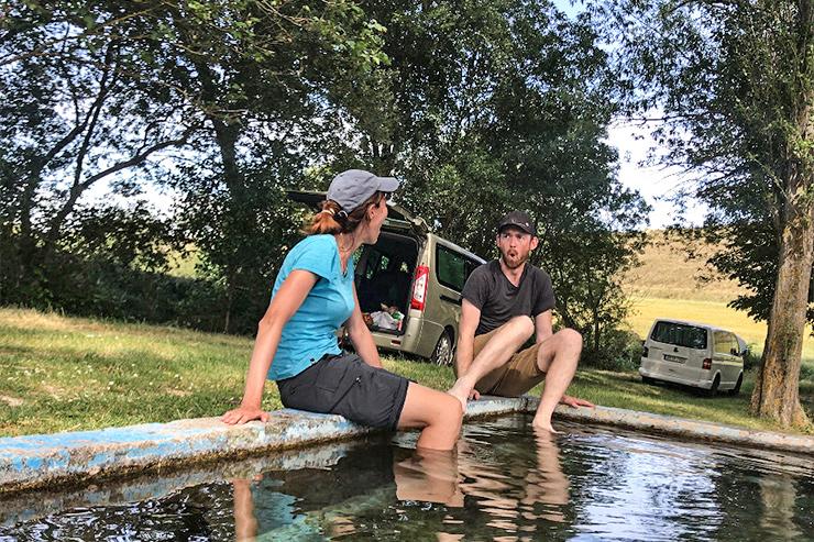 San Bol Holy Water Camino