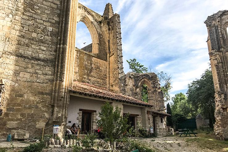 San Antón Monastery Camino